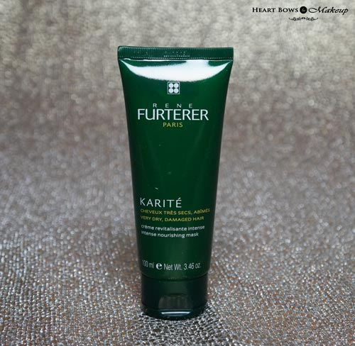 Rene Furterer KARITE Intense Nourishing Mask Review Price Buy India