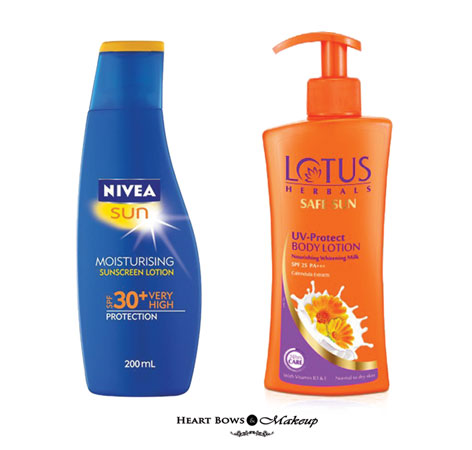 Top 10 Best Sunscreen Lotion In India For Oily Skin & Body