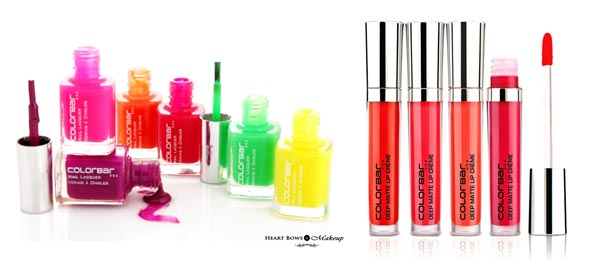 Topselling Best Colorbar Products Reviews Online Nail Polishes Lip Creams