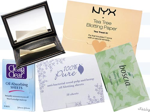 How To Control Oily Skin Best Blotting Sheets