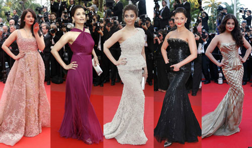 Best Aishwarya Rai Red Carpet Appearances At Cannes