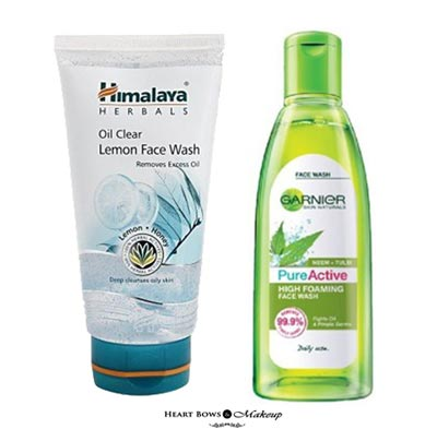 Best Face Wash For Acne Prone Skin Pimples India Drugstore Affordable Options