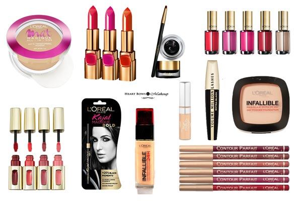 10 Best L'Oreal Makeup & Beauty Products in India: Mini Reviews & Prices - Heart Bows & Makeup