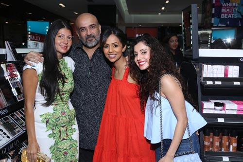 Gauri Nainika At Sephora Makeup Delhi Party