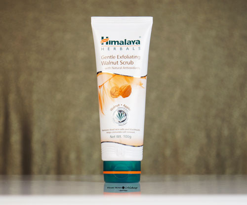 Himalaya Gentle Exfoliating Walnut Scrub Review Price Buy Online India