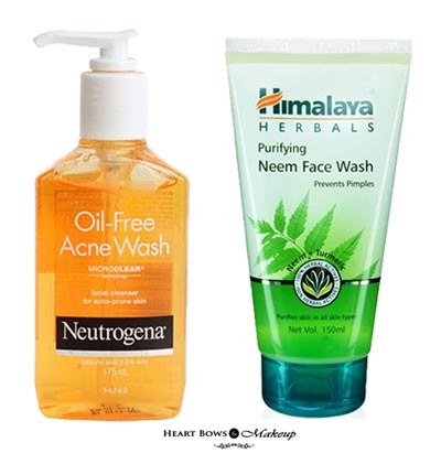 Top 10 Best Face Wash India For Pimples Acne Prone Sensitive Skin