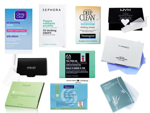 Best Blotting Sheets Tissues For Oily Skin India Top 10 Affordable High End