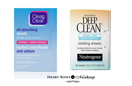 Best Drugstore Blotting Sheets Oily Face