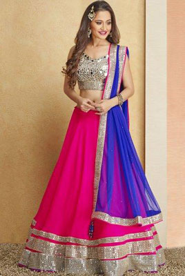 Buy Affordable Bridal Lehengas Delhi Karol Bagh