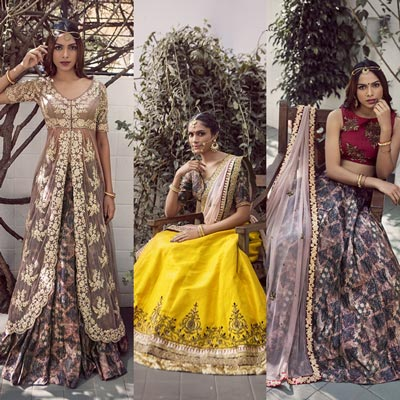 Buy Indian Designer Wear Online Best Sapna Amin Designs