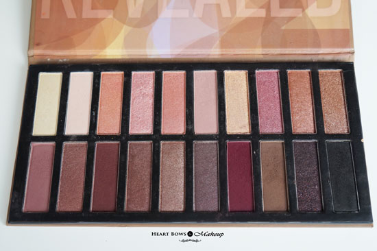Coastal Scents Revealed 2 Palette Review Swatches UD Naked 2 3 Dupe