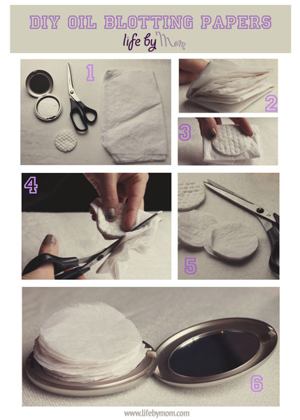 DIY Blotting Sheets Cheap Homemade Effective Steps