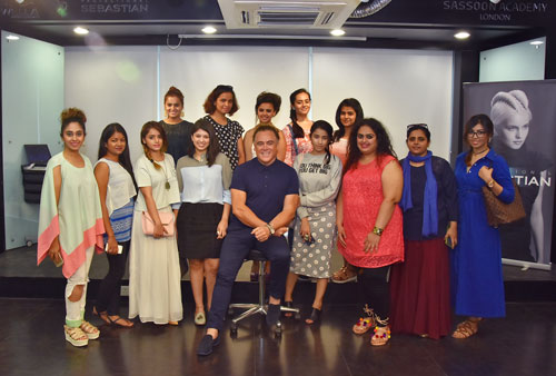 Delhi Beauty Blogger At Wella Hairstyling Event Patrick Cameron