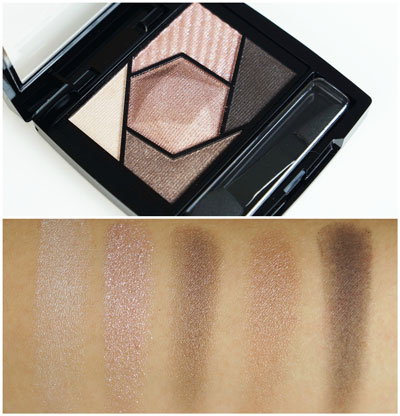Maybelline Color Sensational Diamond Eyesahdow Palette Rose Quartz Review Swatches