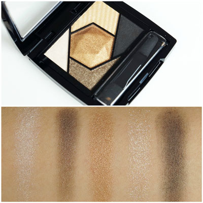 Maybelline Color Sensational Diamond Palette Topaz Gold Review Swatches