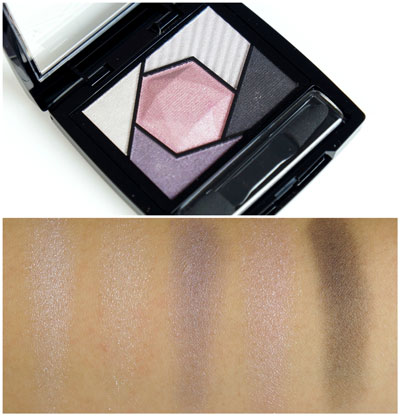 Maybelline Color Sensational Diamond Palette Tourmaline Purple Review Swatches