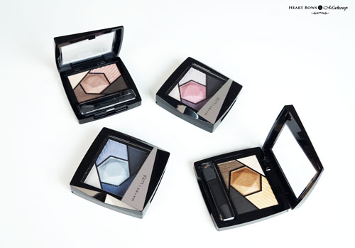 New Maybelline Diamond Eyeshadow Palette Review Swatches Price Buy Online India