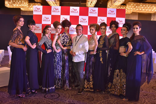 Patrick Cameron Wella Professional Hair Show India