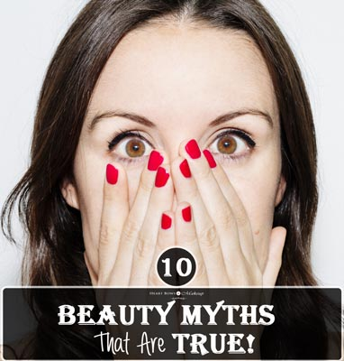 Top 10 Beauty Makeup Myths That Are Actually True Busted