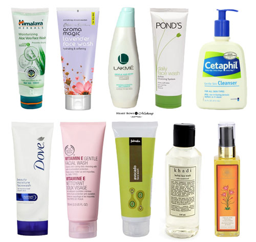 10 Best Face Wash For Dry Skin India Affordable Options