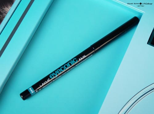 Best Black Kajal India Lakme Eyeconic Kajal Review