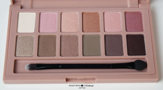 Best Neutral Palette Maybelline The Blushed Nudes Palette Review Swatches