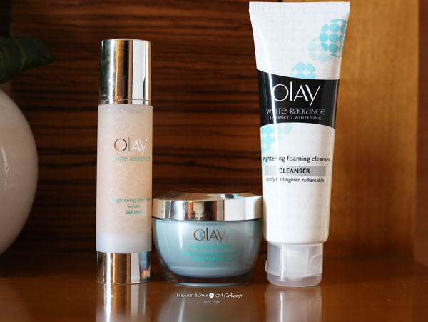 Best Whitening Skincare Range India Olay White Radiance Review