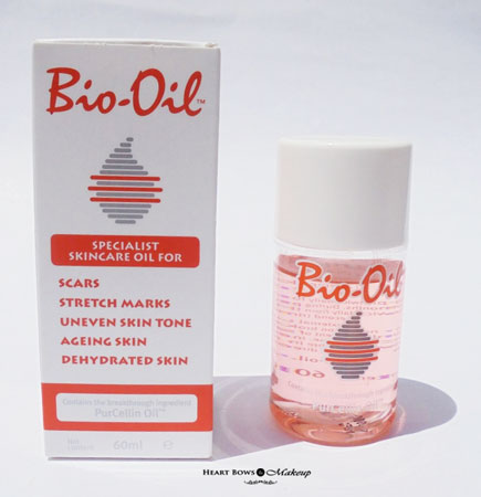 Oil before after and review bio Bio Oil