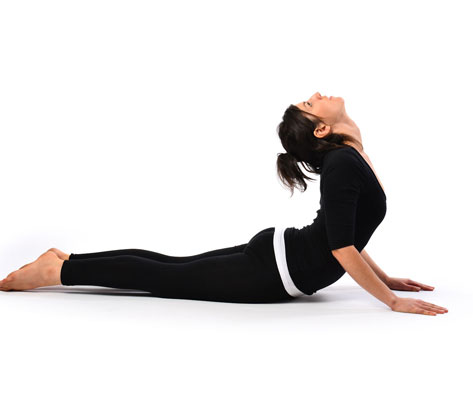 Effective Yoga Asanas For Reducing Sotmach Fat After Pregnancy Cobra Pose