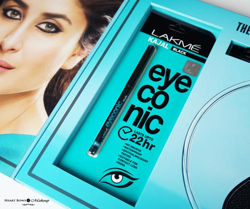 Lakme Eyeconic Black Kajal 22hr Review Swatches Price Buy Online India