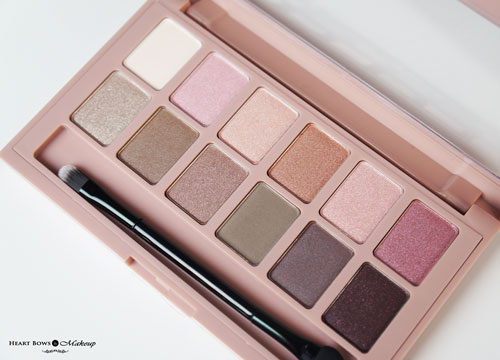 Maybelline The Blushed Nudes Palette Review Price Buy Online India