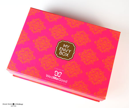 My Envy Box Wedmegood July 2016 Review Products Price Buy India