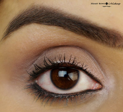 New Lakme Eyeconic Kajal 22hr Swatch EOTD Review