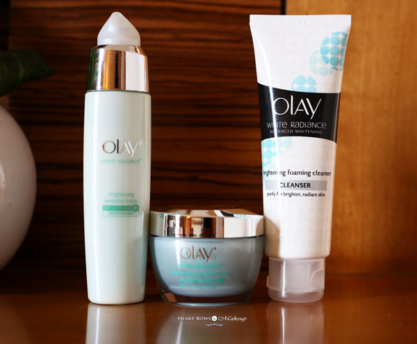 New Olay White Radiance Day Skincare Products Review Price Buy India