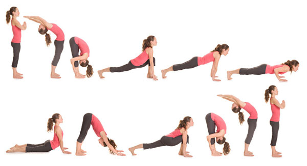 How To Do Surya Namaskar Best Yoga Positions For Flat Stomach
