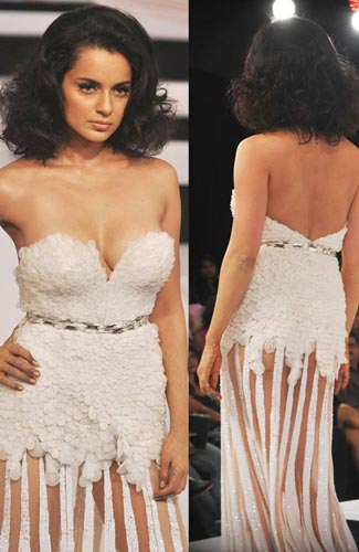 Kangana Ranaut Wardrobe Malfunction Bollywood Actress