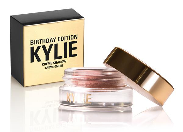 Kylie Birthday Edition Creme Shadow Rose Gold Review Price Swatches