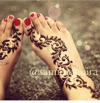 simple flower henna designs for beginners