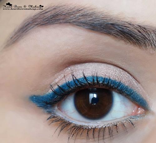 Lakme Eyeconic Green Kajal Review & Swatches
