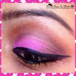 Tutorial: Pink & Bronze Party Eyemakeup
