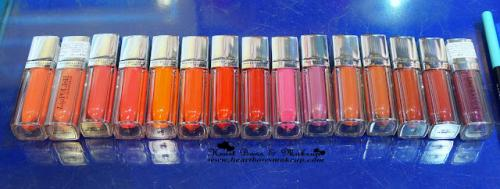 Swatch Book: All Maybelline Lip Polishes Swatches!
