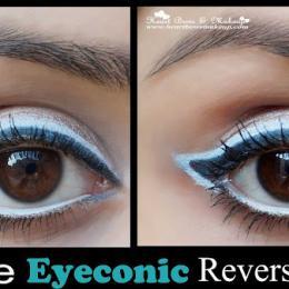 Lakme Eyeconic White Kajal Review, Swatches & Eyemakeup