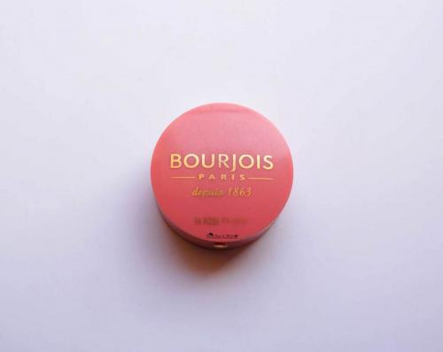 Bourjois Little Round Blush Rose Frisson 54 Review & Swatches