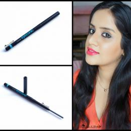 Lakme Eyeconic Grey Kajal Review & Swatches