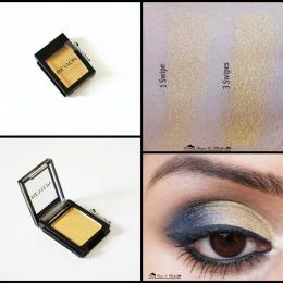 Revlon Colorstay Shadow Links Gold Review, Swatches & Eyemakeup