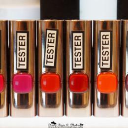 L'Oreal Color Riche Moist Matte Lipstick Swatches & Price in India