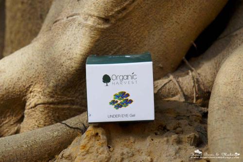 Organic Harvest Under Eye Gel Review: The Best Under Eye Gel In India!