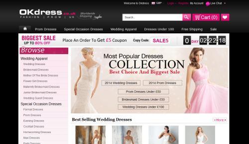 Okdress Website Review: A Fashionista's Candy Land!
