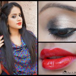 Indian Wedding/ Party Makeup Tutorial with Maybelline InstaGlam Wedding Box