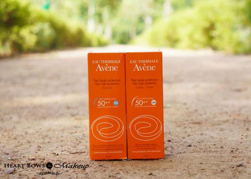 Avene Very High Protection SPF 50+ Emulsion & Cream Review